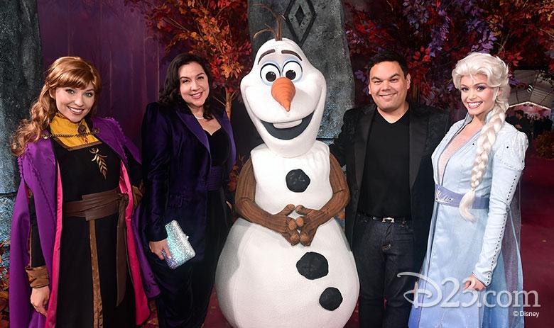 Frozen 2 Kristen Anderson-Lopez and Robert Lopez