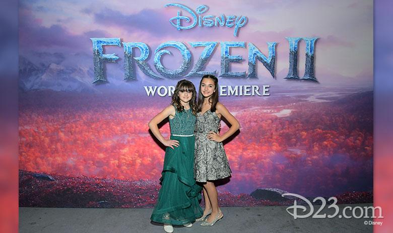 Frozen 2 child actors