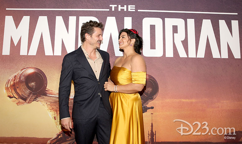 Gina Carano and Pedro Pascal