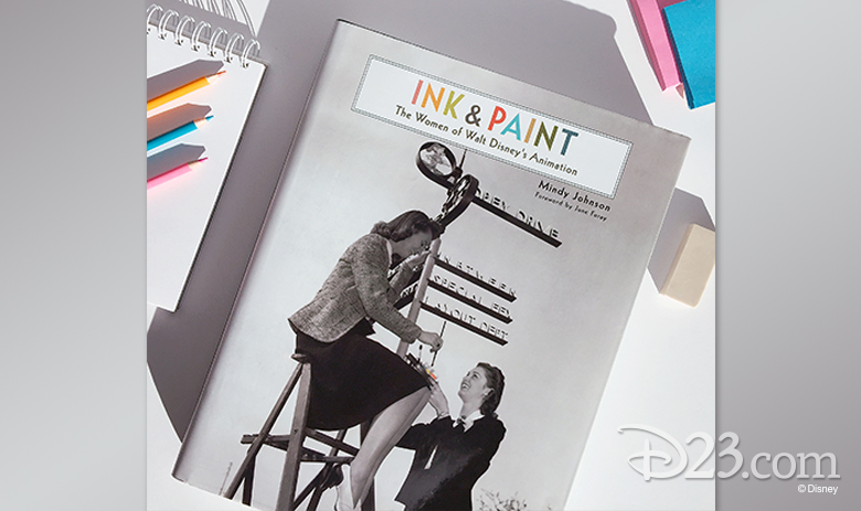 ink and paint book cover
