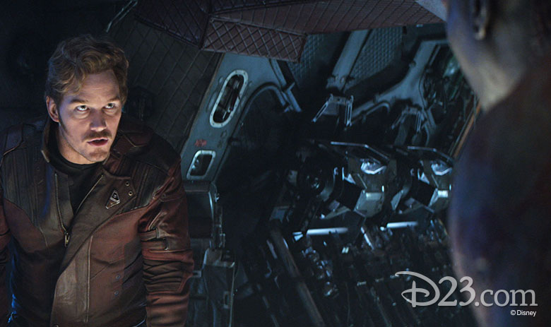 Chris Pratt as Starlord