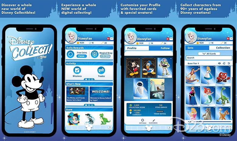Disney Collect App