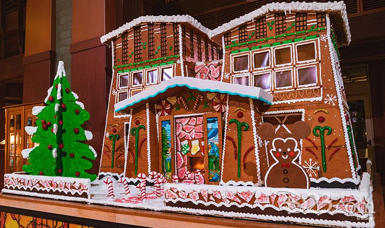 Grand Californian Gingerbread