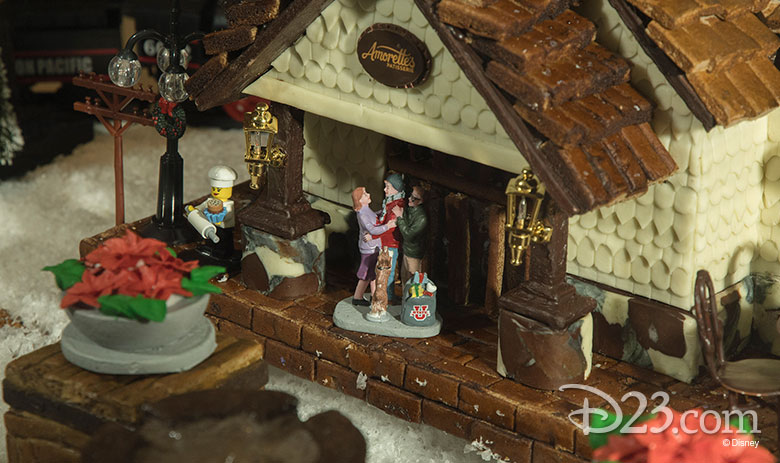 Amorettes gingerbread house