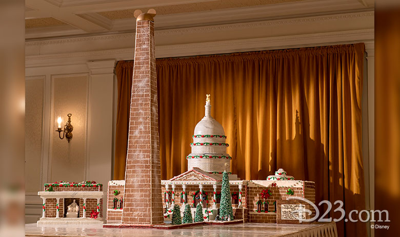 Epcot gingerbread house