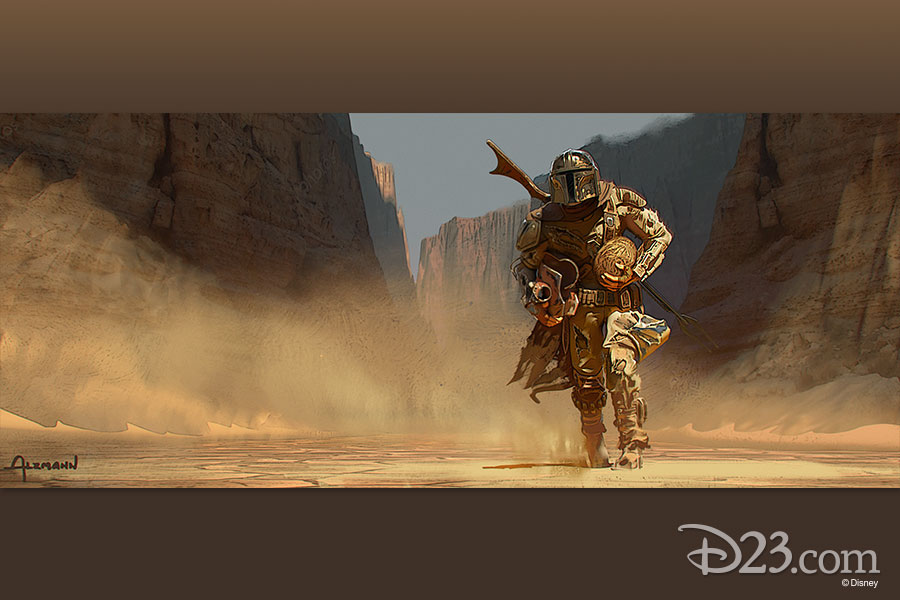 Check My Credit >> The Mandalorian Concept Art Every Fan Needs to See - D23