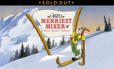 D23's Merriest Mixer at Walt Disney World