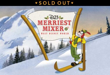 wdw merriest mixer event sold out