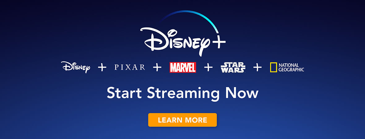 Disney+ launch date banner