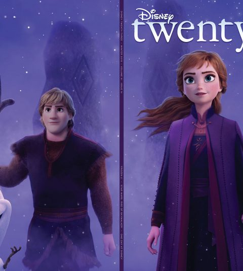 2019 Winter Disney twenty-three front and back cover