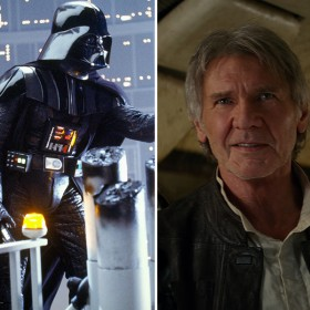 the phantom menace, darth vader, and han solo