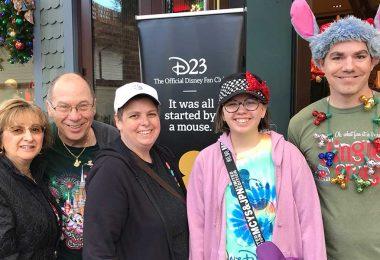 D23 Merriest Mixer at Walt Disney World
