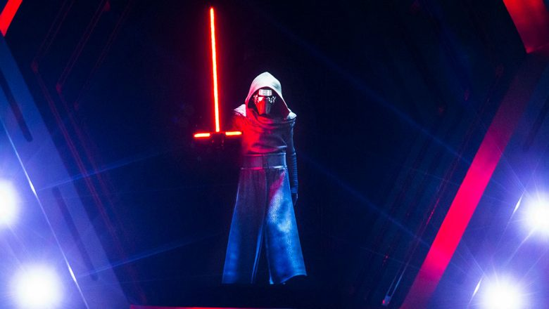 Kylo Ren from Star Wars: Rise of the Resistance