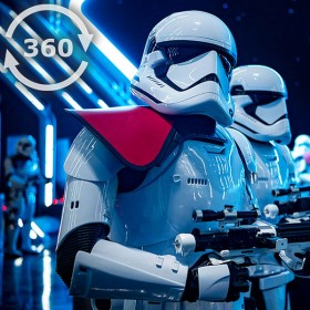 A 360 Look into Star Wars: Rise of the Resistance