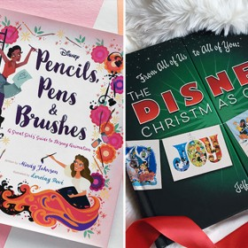 pencils, disney christmas card, poppins in every way