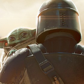 the child and the mandalorian