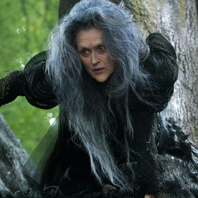 meryl as the witch