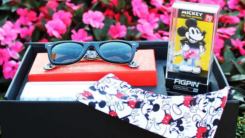 Sunglass Hut Mickey Mouse gift set