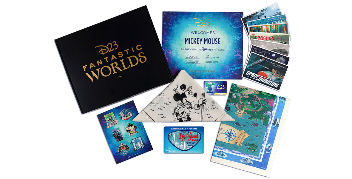 D23 2020 Member Gift - D23 Fantastic Worlds