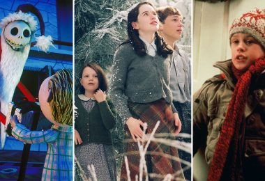 Nightmare before christmas, chronicles of narnia, and home alone
