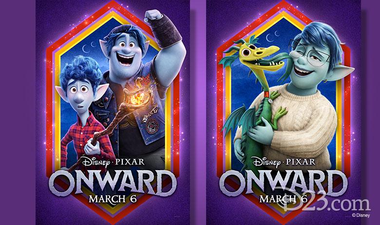 onward posters