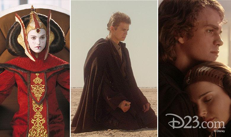 Star Wars episodes 1,2,3