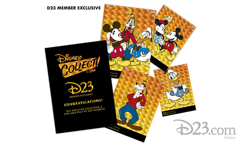 Disney Collect! by Topps D23 Member Exclusive