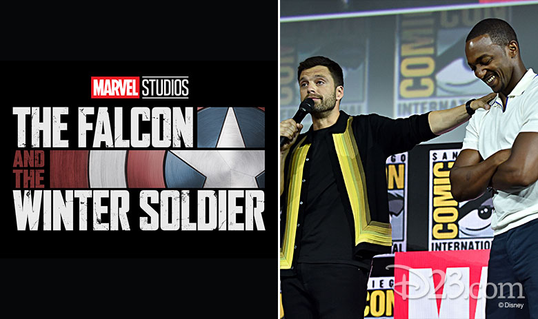 falcon and the winter soldier, sebastian stan, and anthony mackie