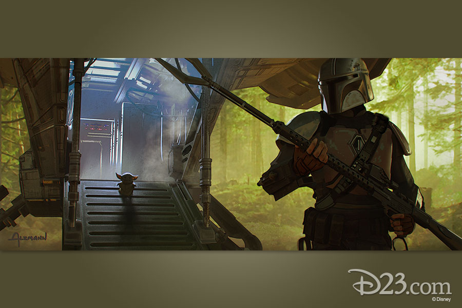 The Mandalorian Chapter 4 concept art