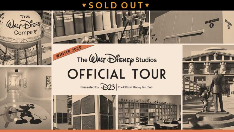studio tours winter 2020 sold out