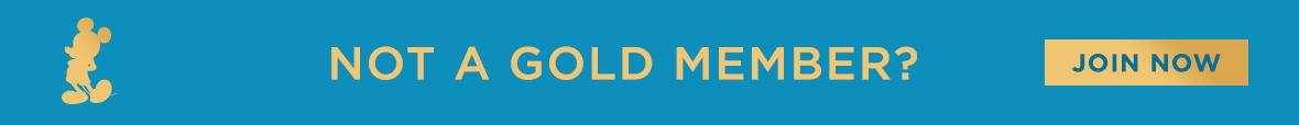 Not a Gold Member? banner