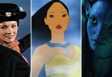 mary poppins, pocahontas, and neytiri