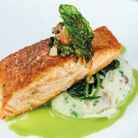 Pan-seared Salmon Recipe from Disneyland's Blue Bayou