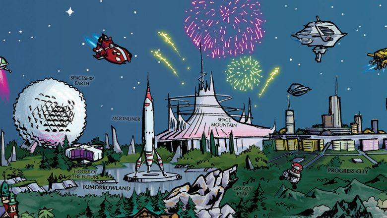 D23 Fantastic Worlds map part 1