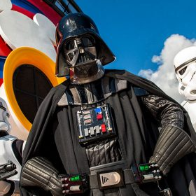 darth vader on disney cruise ship