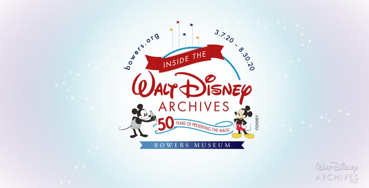 "Walt Disney Archives Presents ""Inside the Walt Disney Archives: 50 Years of Preserving the Magic"""