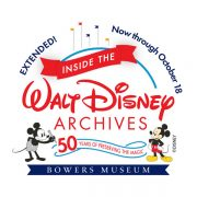 Bowers Museum: D23 Gold and Gold Family Member discount offer!