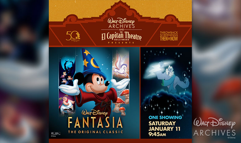 Fantasia at the El Capitan