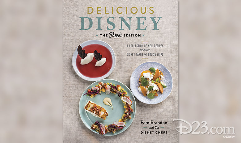 Delicious Disney book cover