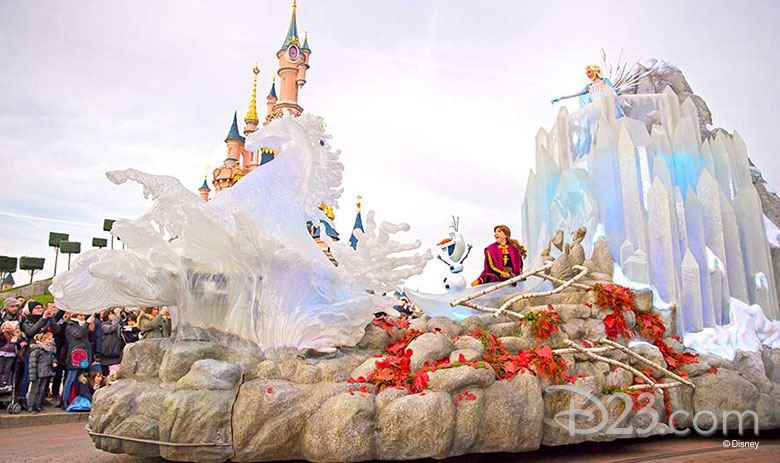 frozen float disneyland paris