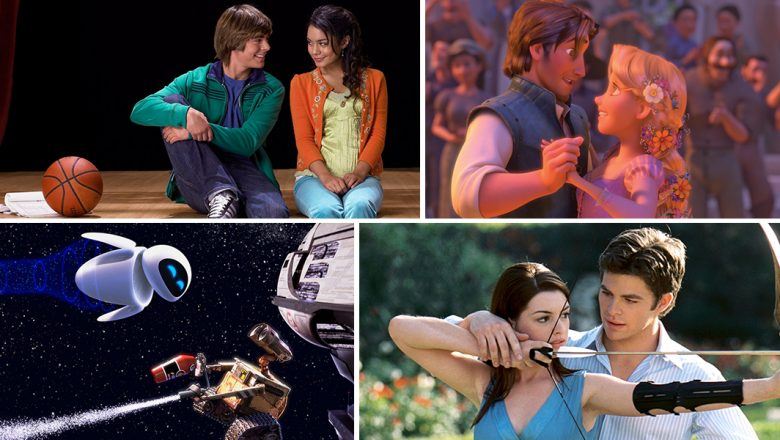Romantic Disney movies on Disney+