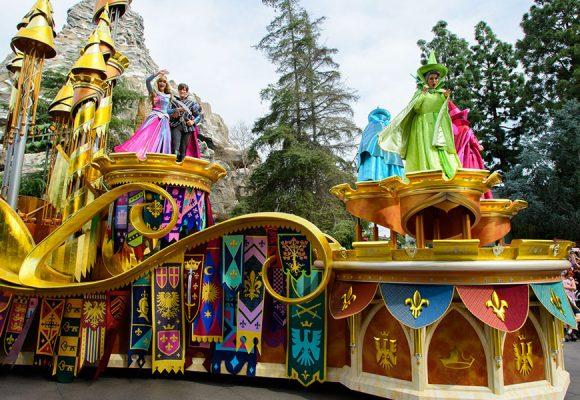 """Get a Closer Look at Disneyland Park's New """"Magic Happens"""" Parade Floats"""