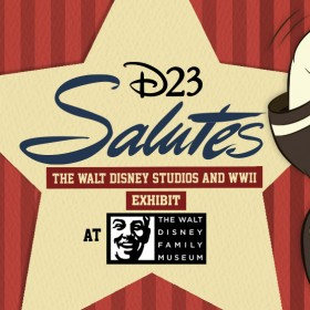 D23 Salutes the Walt Disney Studios and WWII Exhibit at The Walt Disney Family Museum