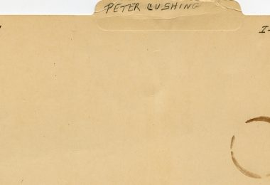 What's in a Name? – Peter Cushing