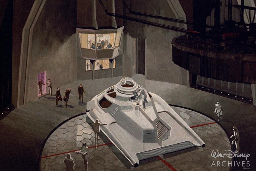 Fantastic Voyage ship concept art