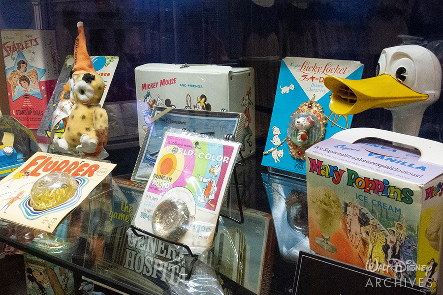 "Walt Disney Archives ""50 Years of Preserving the Magic"" 1960-70s merchandise"