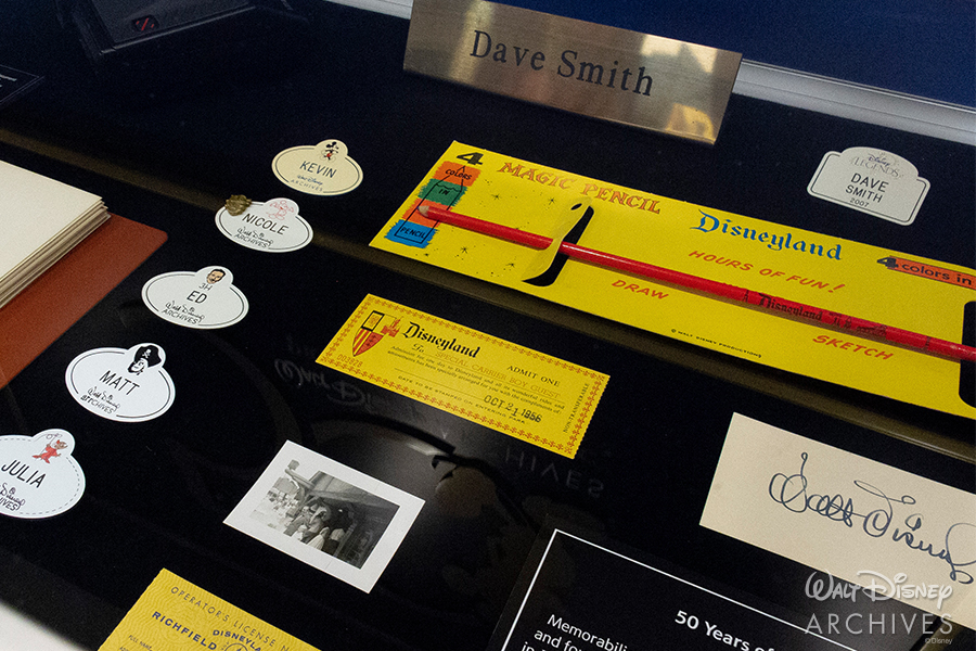 "Walt Disney Archives ""50 Years of Preserving the Magic"" Archives memorabilia"