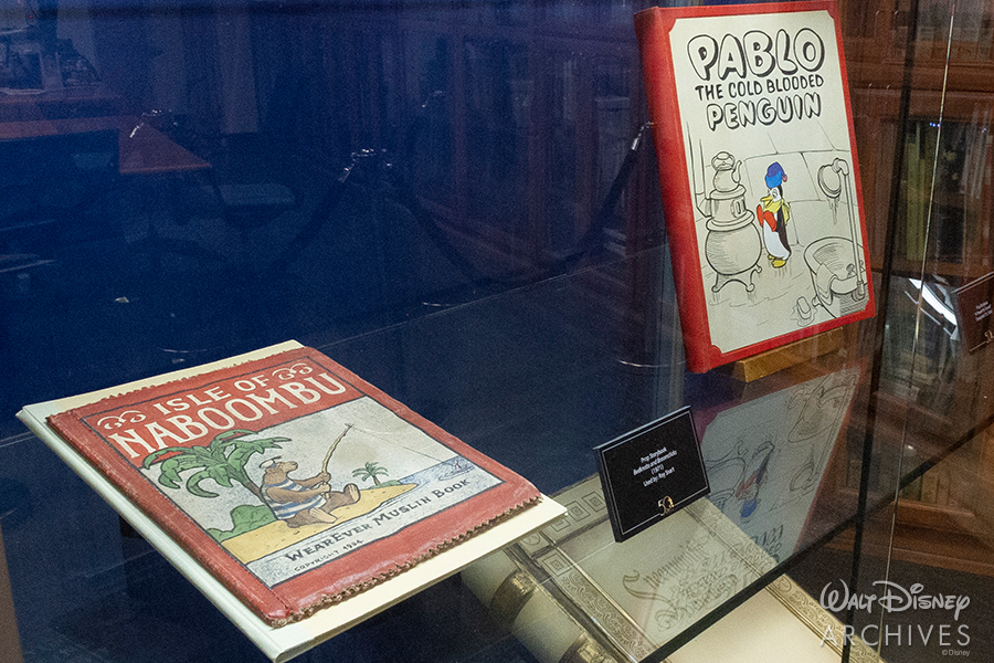 "Walt Disney Archives ""50 Years of Preserving the Magic"" Isle of Naboombu and Pablo the Cold Blooded Penguin books"