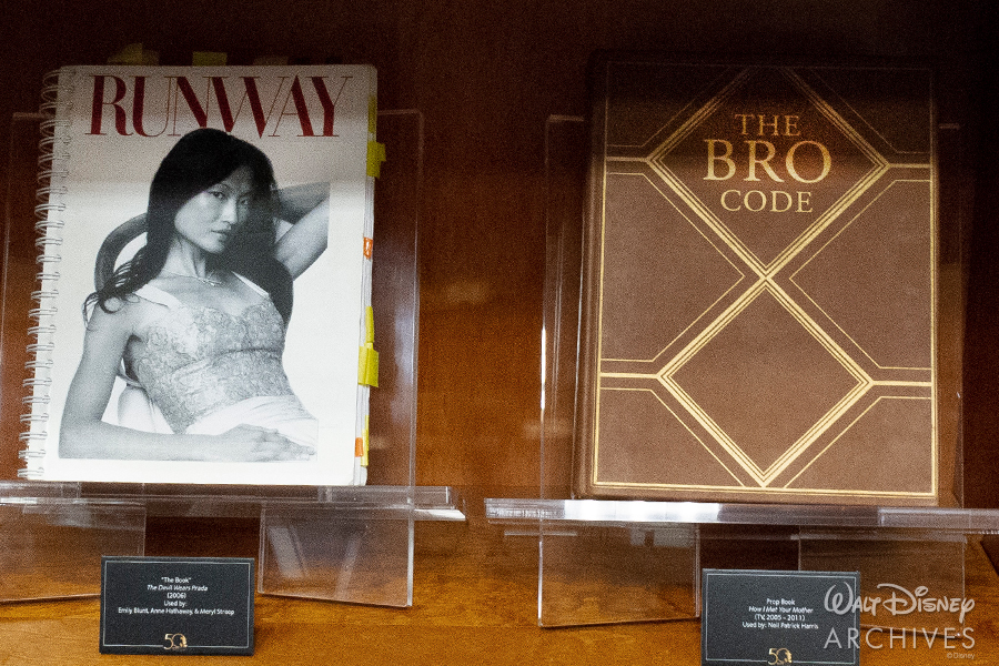 "Walt Disney Archives ""50 Years of Preserving the Magic"" ""The Book"" Devil Wears Prada and The Bro Code book"