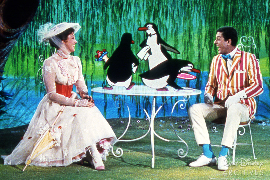Mary Poppins, Burt and Penguins